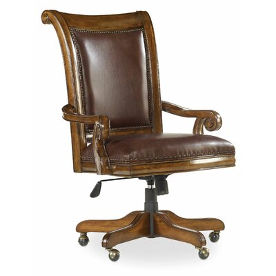 Hooker Furniture Tynecastle High-Back Leather Desk Chair Image