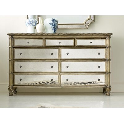 Hooker Furniture Melange Montage 9 Drawer Dresser