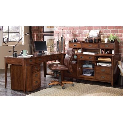 Hooker Furniture Danforth 2-Piece L-Shape Desk Set