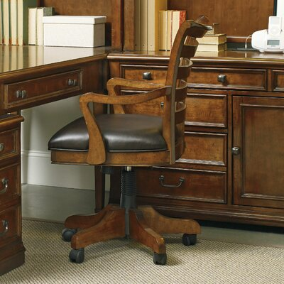 Hooker Furniture Shelton High-Back Tilt Swivel Chair