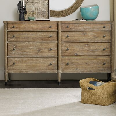 Hooker Furniture Studio 7H 8 Drawer Dresser