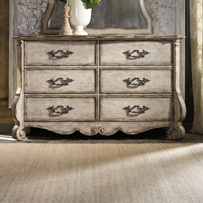 Hooker Furniture Chatelet 6 Drawer Dresser