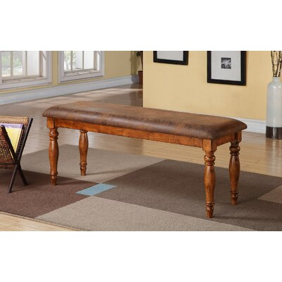 Loon Peak Log Lane Village Wood Kitchen Bench