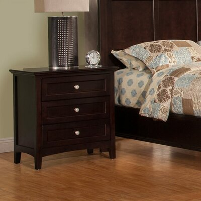 Darby Home Co Seger 3 Drawer Nightstand