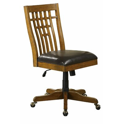 Loon Peak Limon Mid-Back Office Chair with Pump
