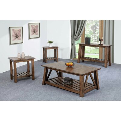 Laurel Foundry Modern Farmhouse 4 Piece Coffee Table Set