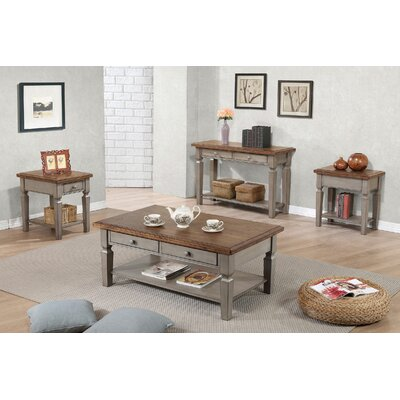 August Grove 4 Piece Coffee Table Set