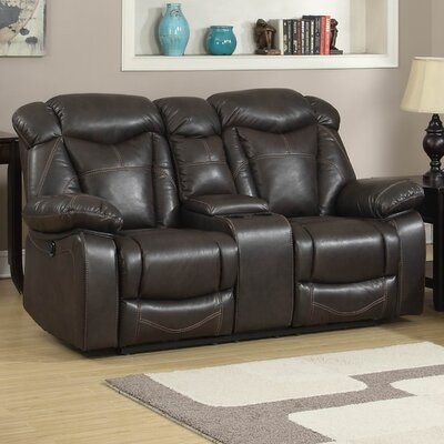 AC Pacific Otto Transitional Reclining Loveseat ..