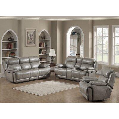 AC Pacific Estella 3 Piece Living Room Set