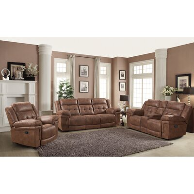 AC Pacific Kingston 3 Piece Living Room Set