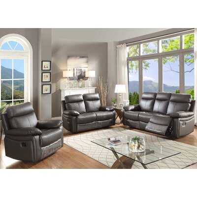 AC Pacific Ryker 3 Piece Living Room Set