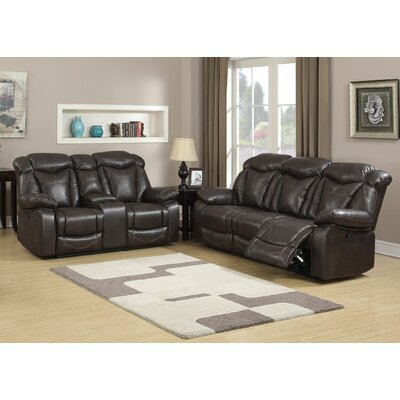 AC Pacific Otto Contemporary 2 Piece Living Roo..