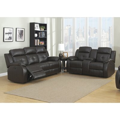 AC Pacific Troy Power 2 Piece Reclining Living R..