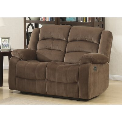 AC Pacific Bill Reclining Living Room Loveseat