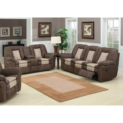 AC Pacific Carson Sofa and Loveseat Set