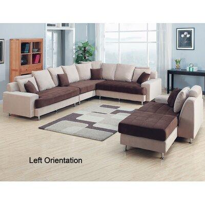 AC Pacific Modular Sectional Living Room Set