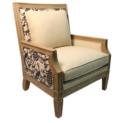 Pennisula Home Collection Co. Andorra Trocadero Linen Armchair