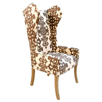 Pennisula Home Collection Co. Margo Casablanca Wingback Arm Chair