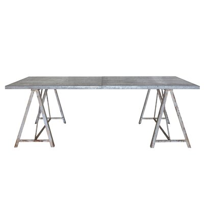 Creative Co-Op Gatherings Sawhorse Coffee Table