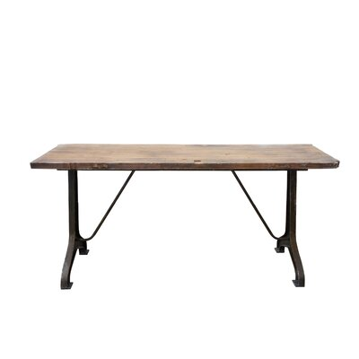 Creative Co-Op Honey Grey Dining Table