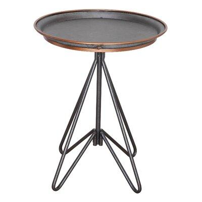 Creative Co-Op Garden Round Metal End Table