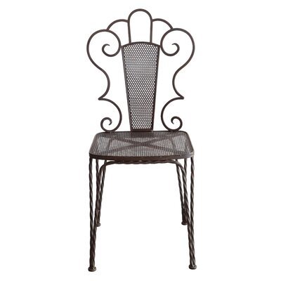 Creative Co-Op Garden Metal Side Chair