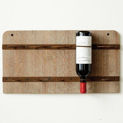 Creative Co-Op Sonoma 5 Bottle Wall Mounted Wine Rack