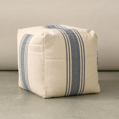 Creative Co-Op Grange Canvas Pouf Ottoman