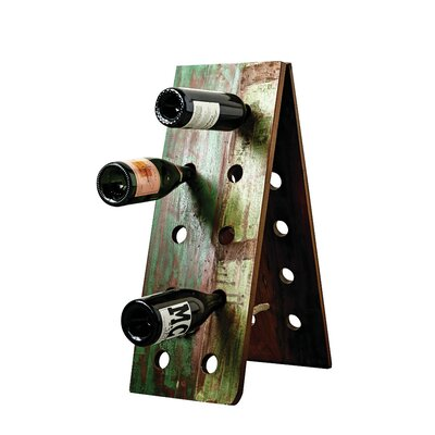 Creative Co-Op Waterside 10 Bottle Wall Mounted ..