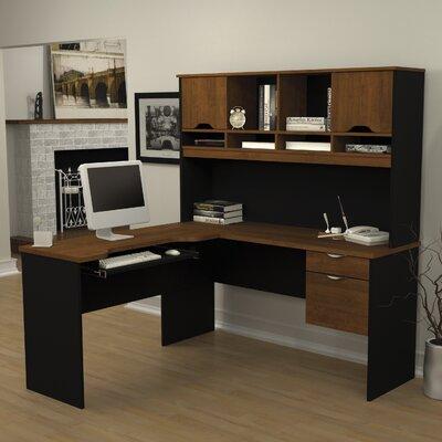 Bestar Innova L-Shape Computer Desk with ..