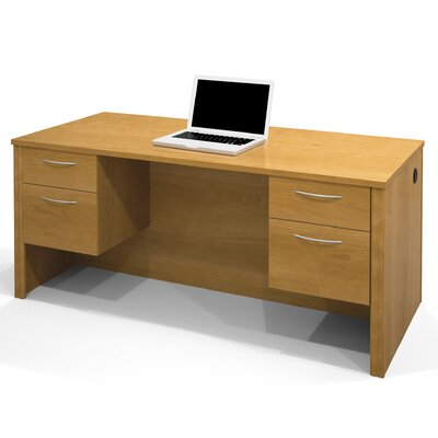 Bestar Embassy Computer Desk with Dual Ha..