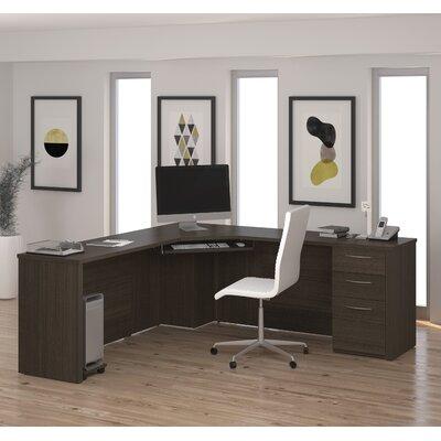 Latitude Run Karyn Corner Desk with Crede..