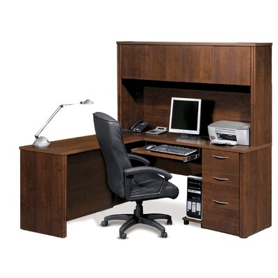 Bestar Embassy L-Shape Desk Office Suite