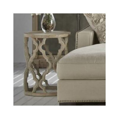 Orient Express Furniture Bella Antique Clover End Table