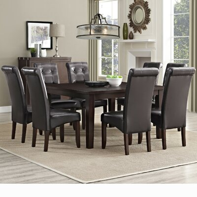 Simpli Home Eastwood 9 Piece Dining Set