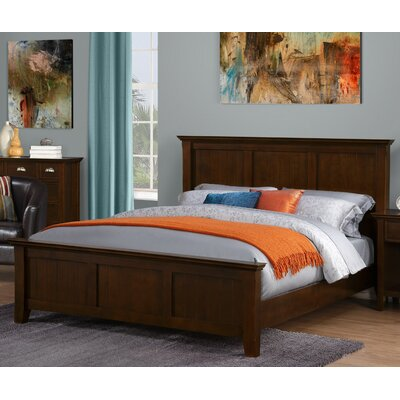 Simpli Home Acadian Sleigh Bed