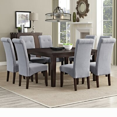 Simpli Home Eastwood 9 Piece Dining Set Image