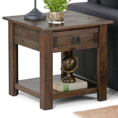 Simpli Home Monroe End Table