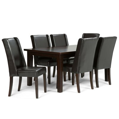 Simpli Home Sotherby 7 Piece Dining Set