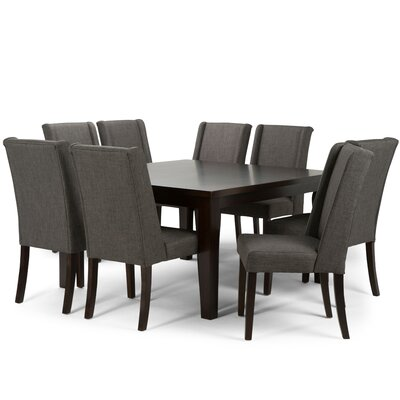 Simpli Home Sotherby 9 Piece Dining Set