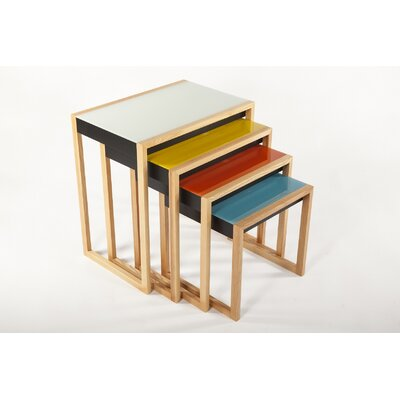 dCOR design The Bayer 4 Piece Nesting Table Set