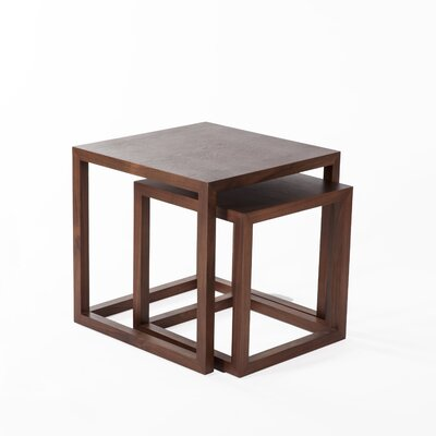 dCOR design Vaxaholm 2 Piece Nesting Table Set