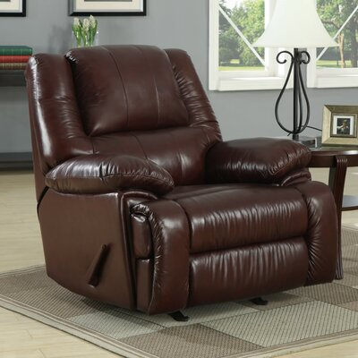 At Home Designs Cascadia Leather Chaise Recl..