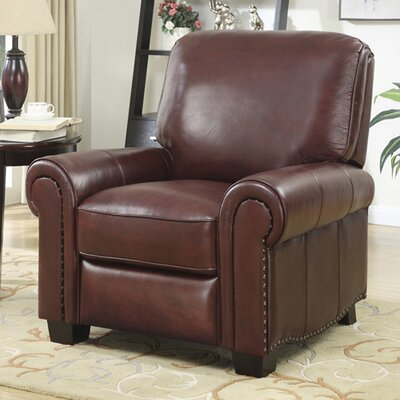 At Home Designs Tisdale Leather Recliner