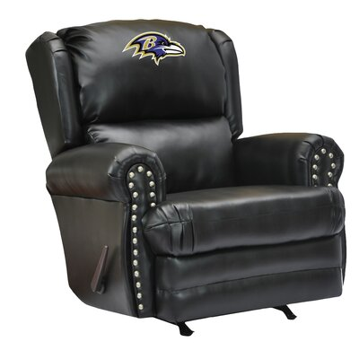Imperial NFL Coach Leather Recliner