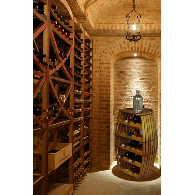 Quickway Imports 17 Bottle Floor Wine Rack