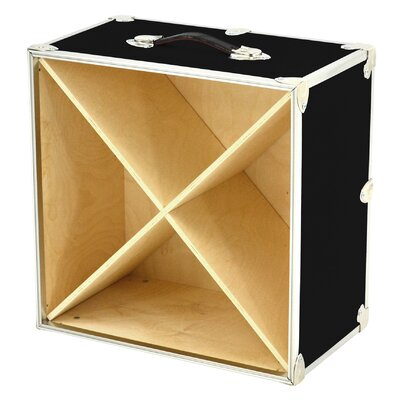 Rhino Trunk and Case 24 Bottle Tabletop Wine Rack