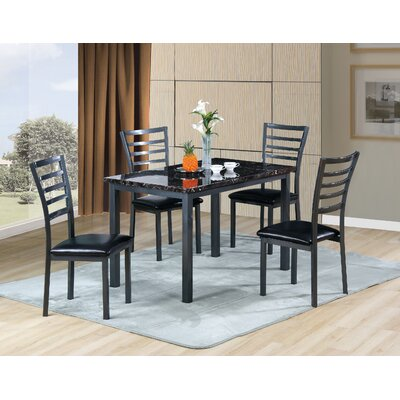 Williams Import Co. Carlyle 5 Piece Dining Set