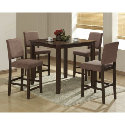 Darby Home Co Ashford 5 Piece Pub Table Set