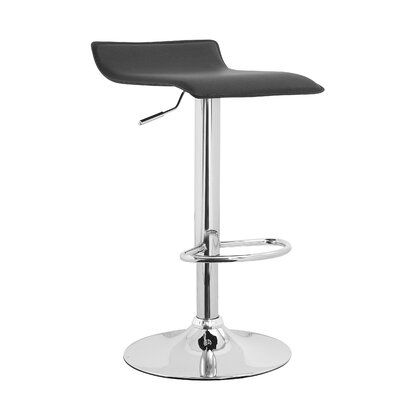 Williams Import Co. Meki Adjustable Height Swivel Bar Stool (Set of 2)